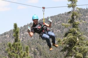 tanya-ziplining-big-bear